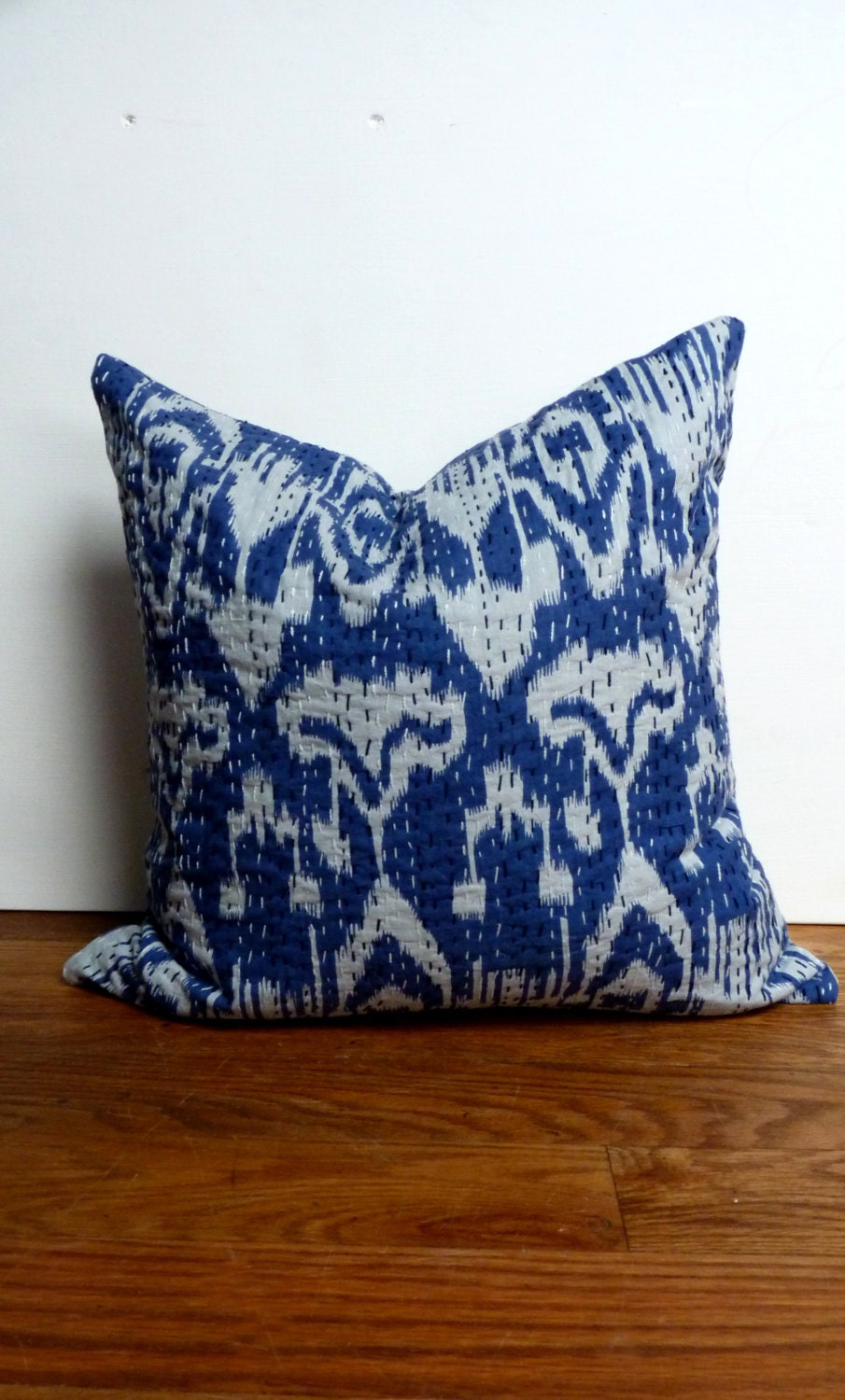 Indigo Blue Throw Pillow : Unavailable Listing on Etsy