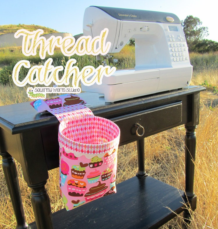 PDF Sewing Pattern- Thread Catcher
