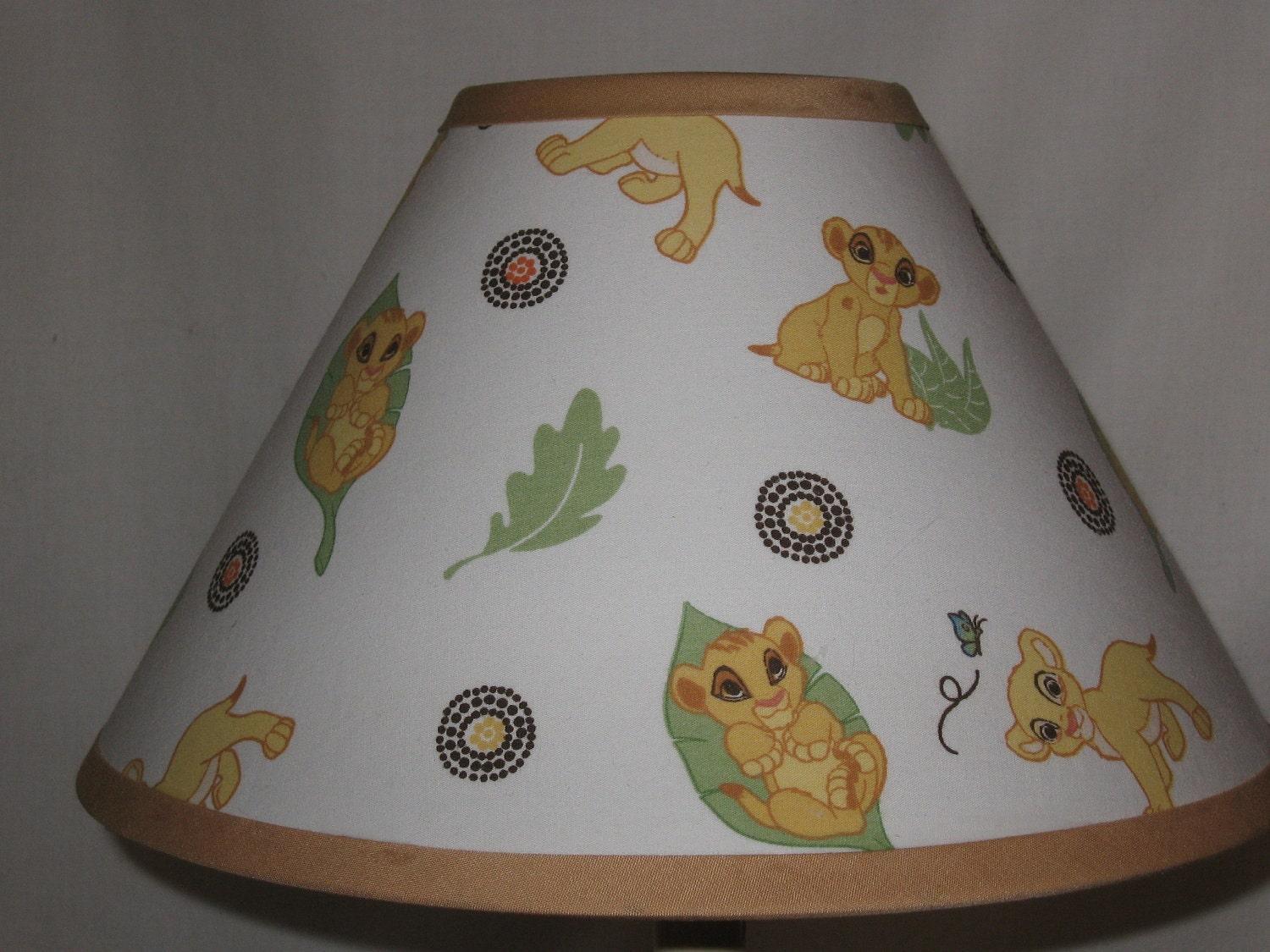 Lion King Fabric Lampshade By Cassycustomcreations On Etsy