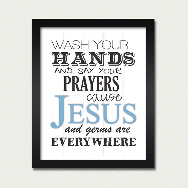 """Items similar to 8x10"""" Wash Your Hands Sign - Print Only on Etsy"""