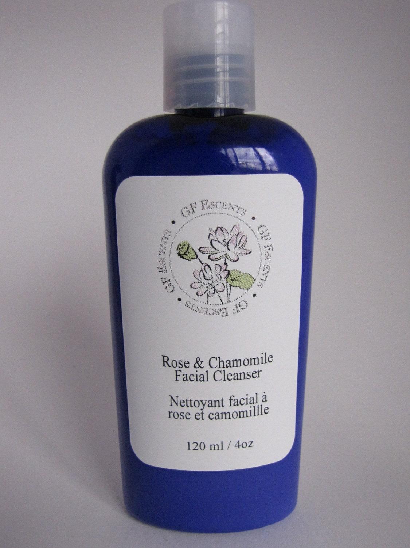 rose facial cleanser