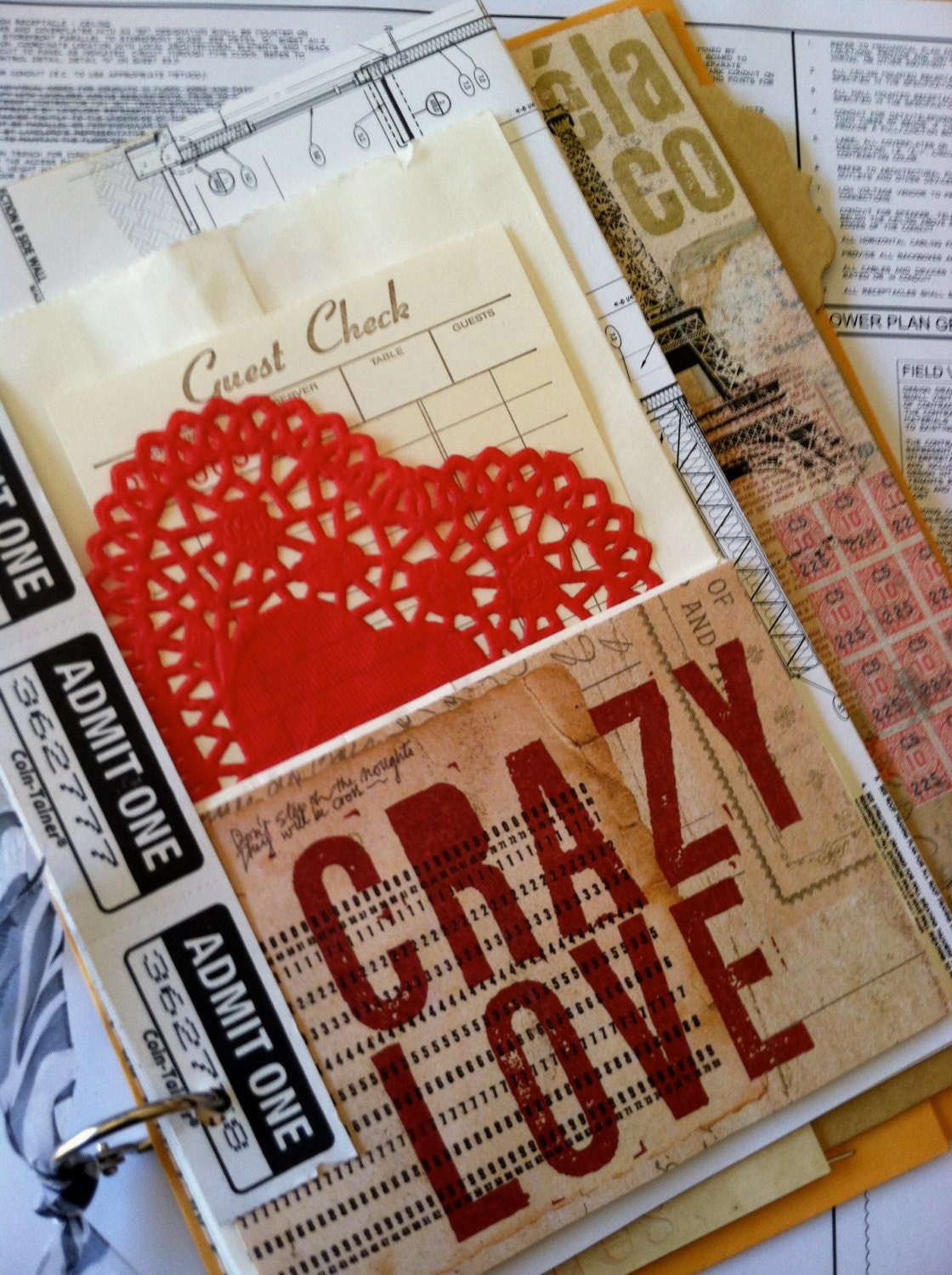 CRAZY LOVE Junk Journal