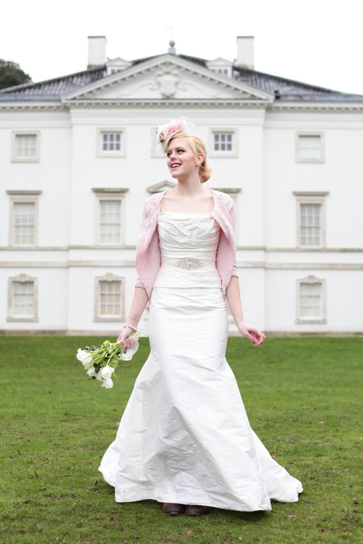 Wedding Dress SAMPLE SALE  Wedding Dress Sash  Art Deco Style Wedding Belt in Ivory