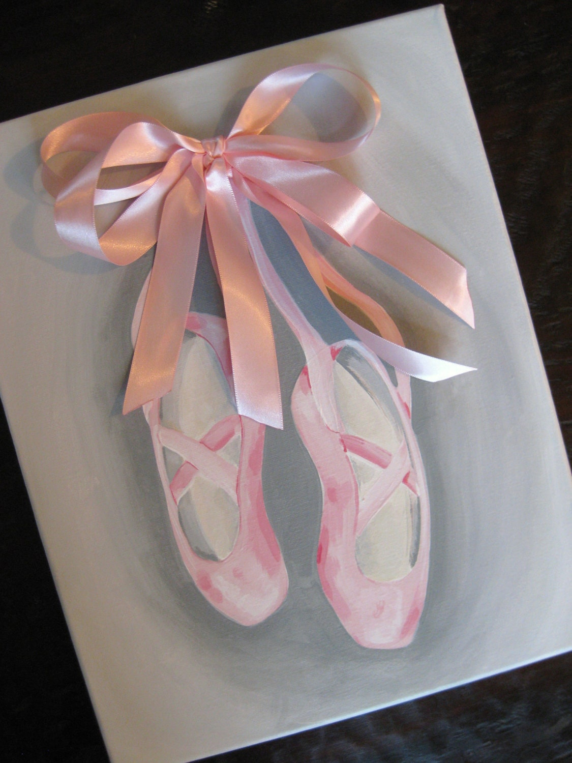 Ballet Shoes, 11x14, READY TO SHIP