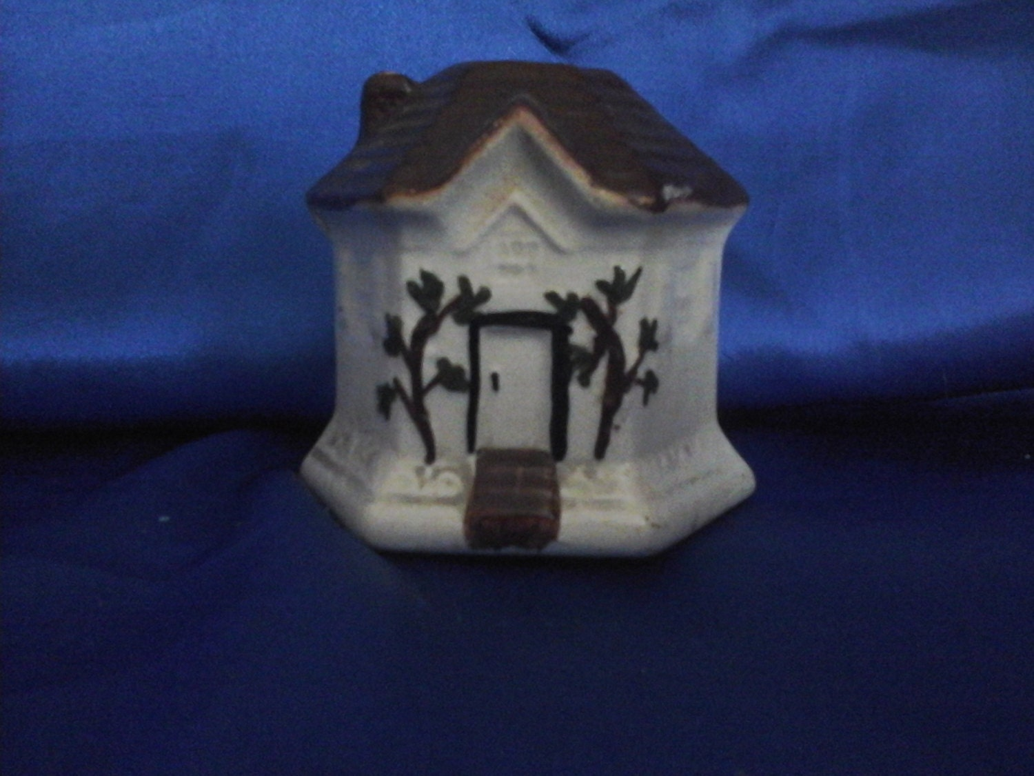House Shaped Pot with Hole in the top for Toothpicks