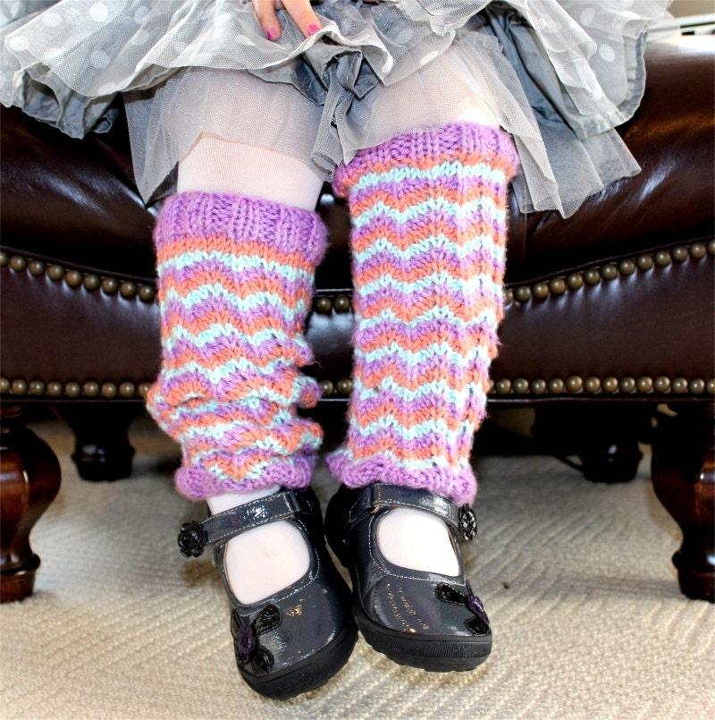 Knitting PATTERN Childs Missoni esque Leg by theknittingniche