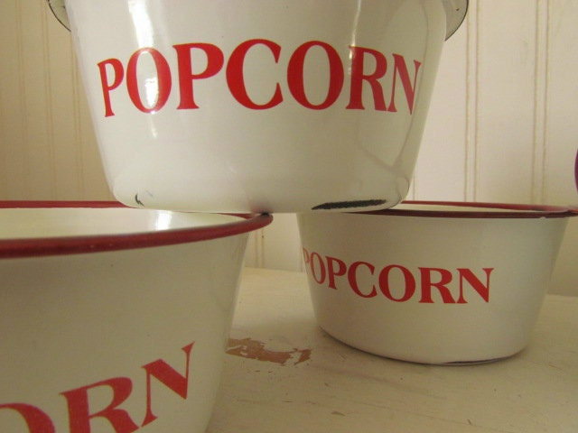 Vintage Popcorn Bowl 91