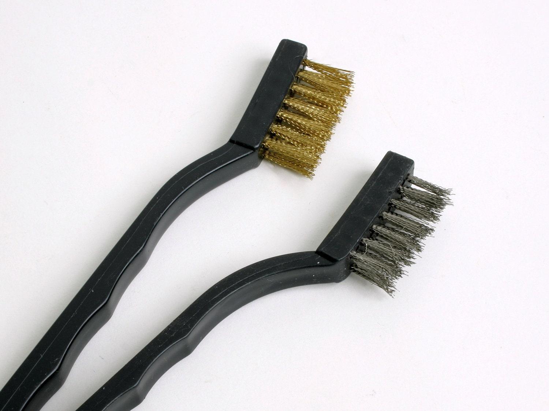 Steel Wire Brush Set - 2 Pack - brendaschweder