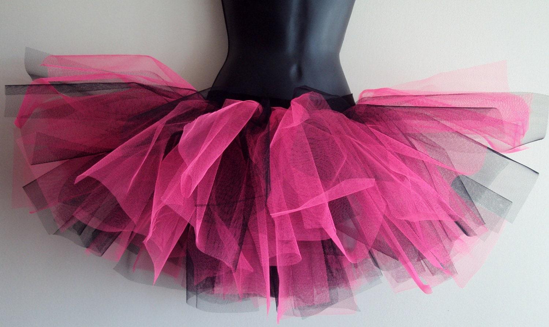 PINK BLaCK tutu skirt size U.S. 4 6 8 10  U.K  6 8 10 12