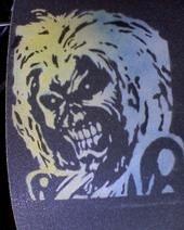 Iron Maiden Stencil Hasshecom