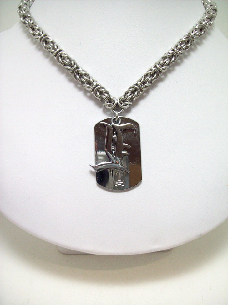 items similar to note mens necklace anime jewelry