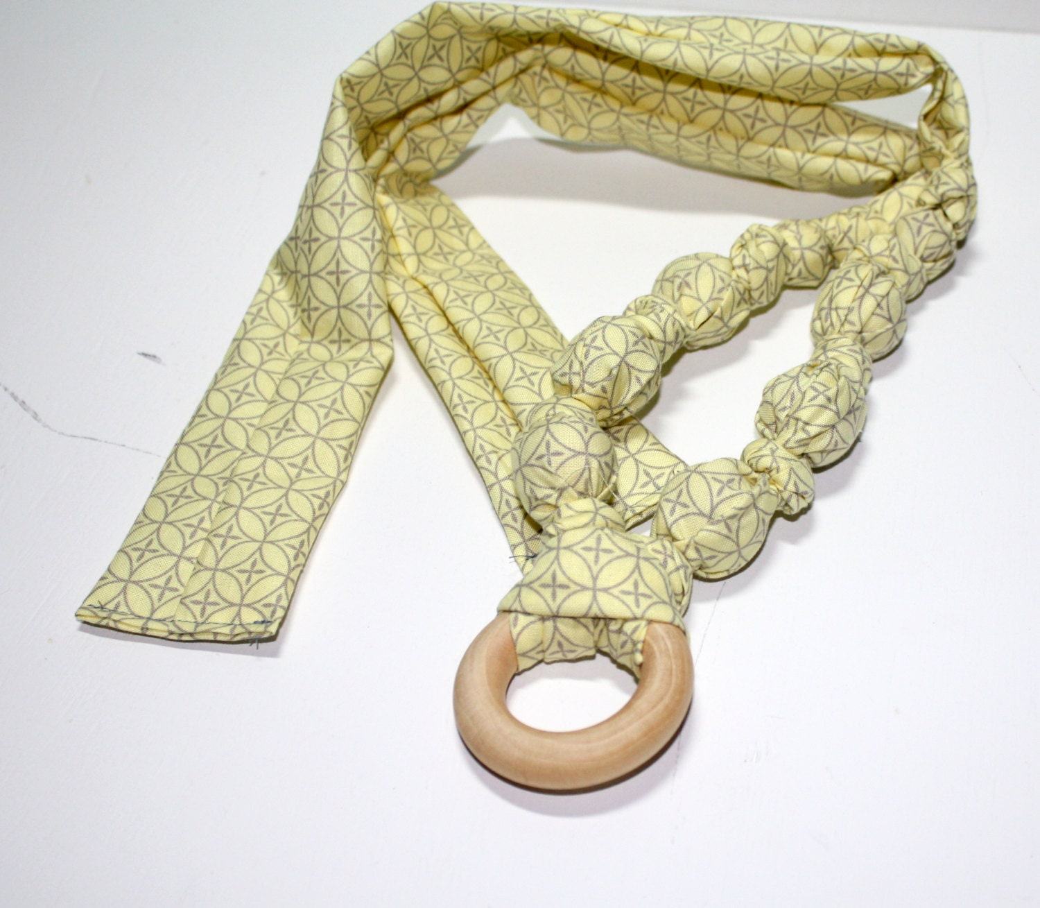 items similar to teething necklace nursing fabric