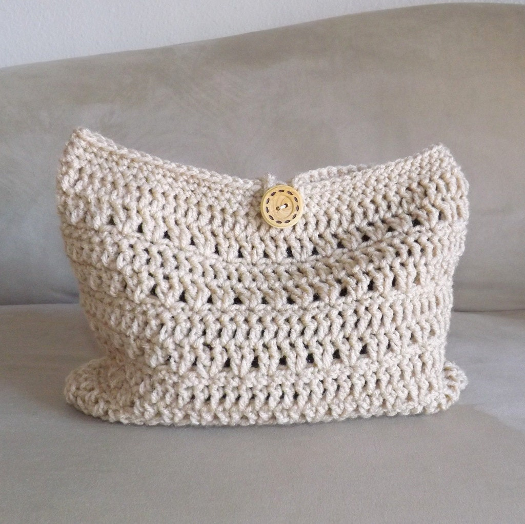 Crochet Cosmetic Bag : Crochet make up bag, crochet cosmetic bag, crochet mini bag, crochet ...