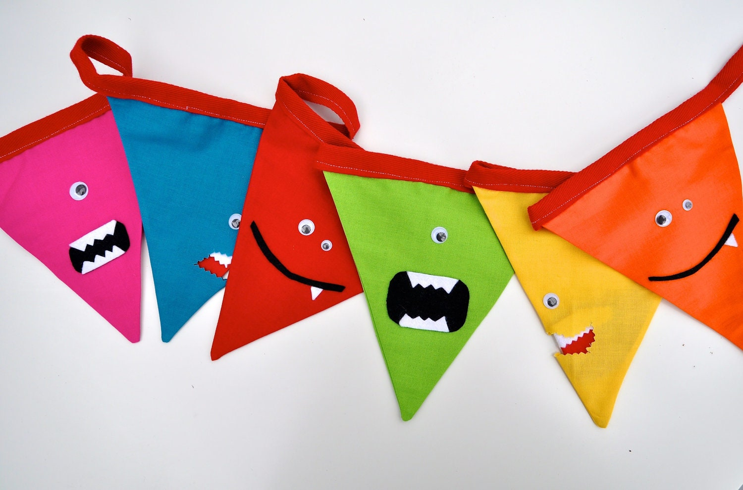 Monster Bunting for Kids at Halloween