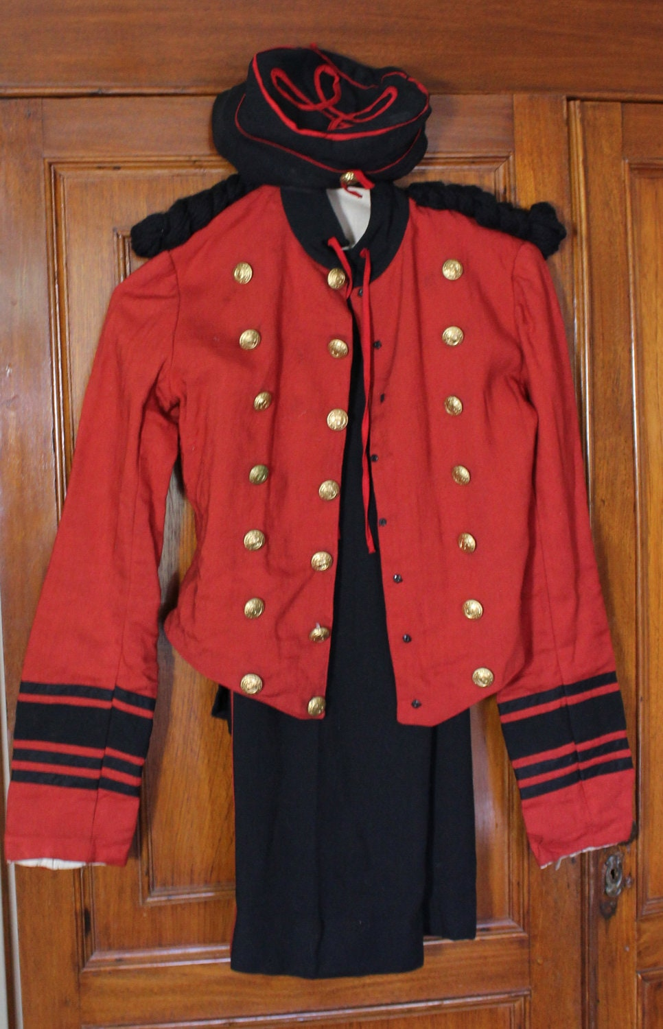 Vintage Bellhop Costume Rare Find 1920s Halloween By