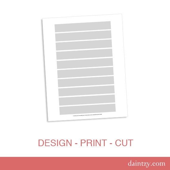 Label Sticker for Greeting Card Invitation Envelope 5x7 Party Template ...