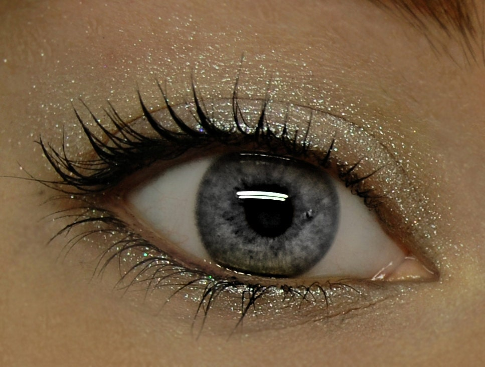Sheer Glittery Eyeshadow . ASTERIA Mineral Eye Shadow . Goddess Collection . Large 10 gram Jar - BLSoaps