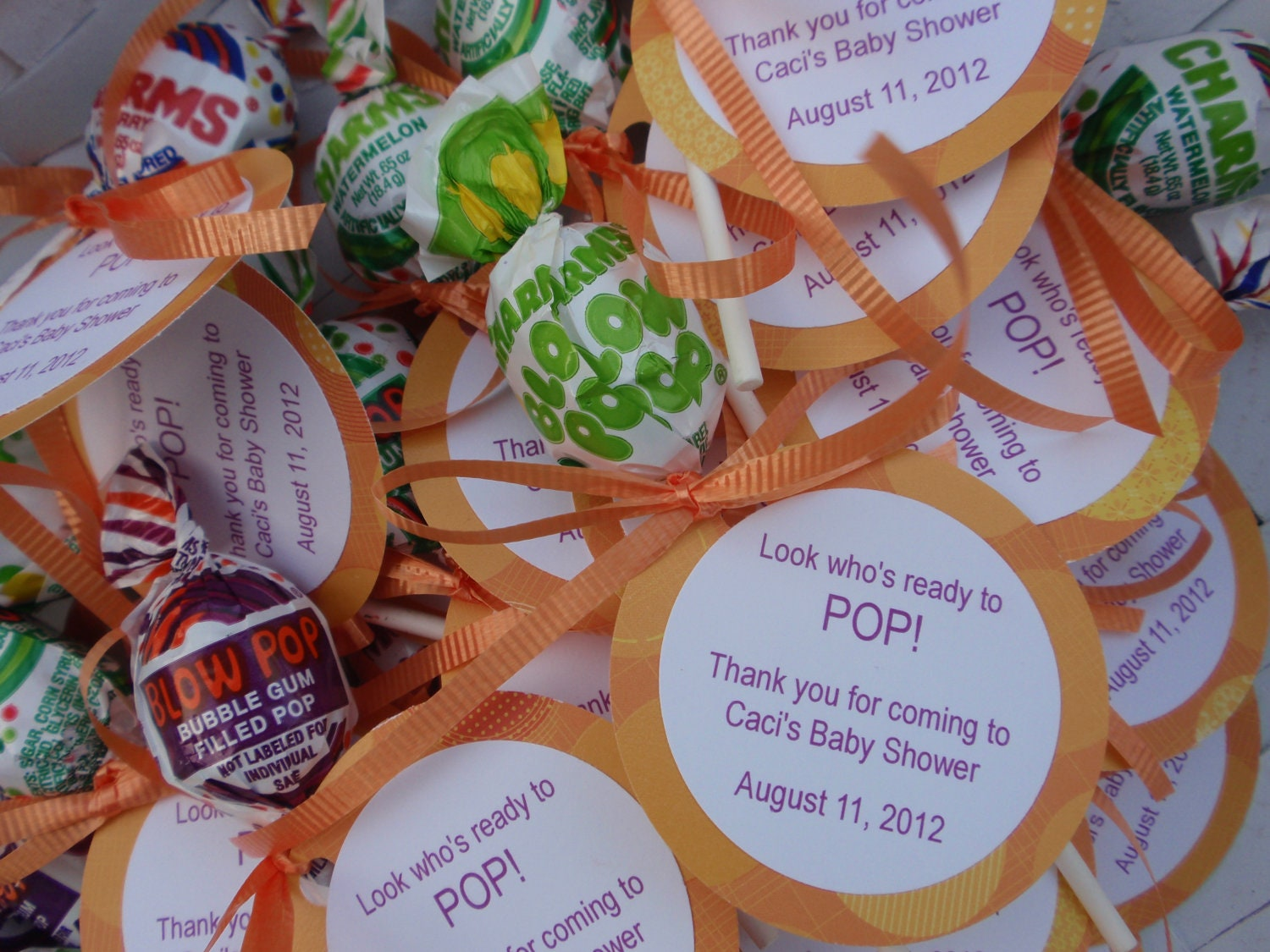 items similar to ready to pop baby shower favors on etsy