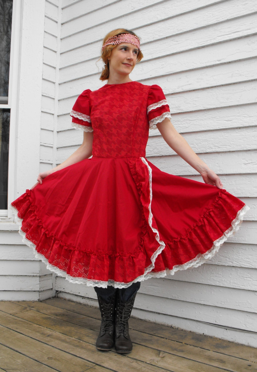 Womens Western Skirts And Dresses