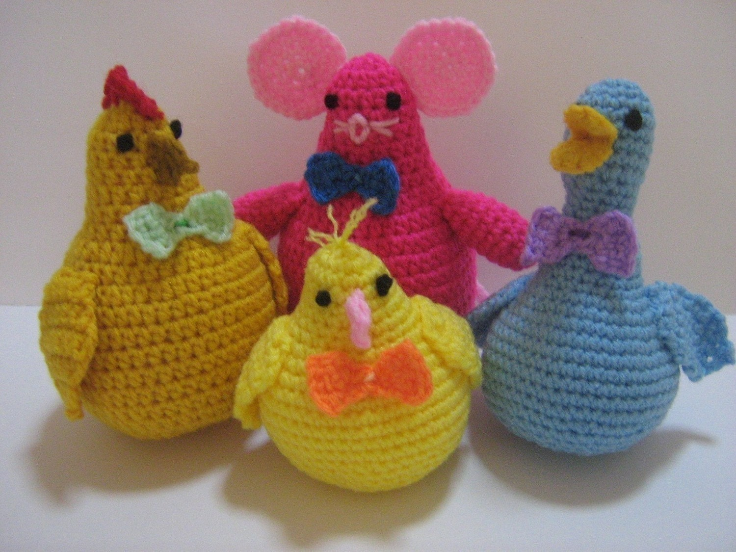 Crochet Patterns Animals : Amigurumi Crochet Pattern Animal Crochet Pattern PDF by melbangel
