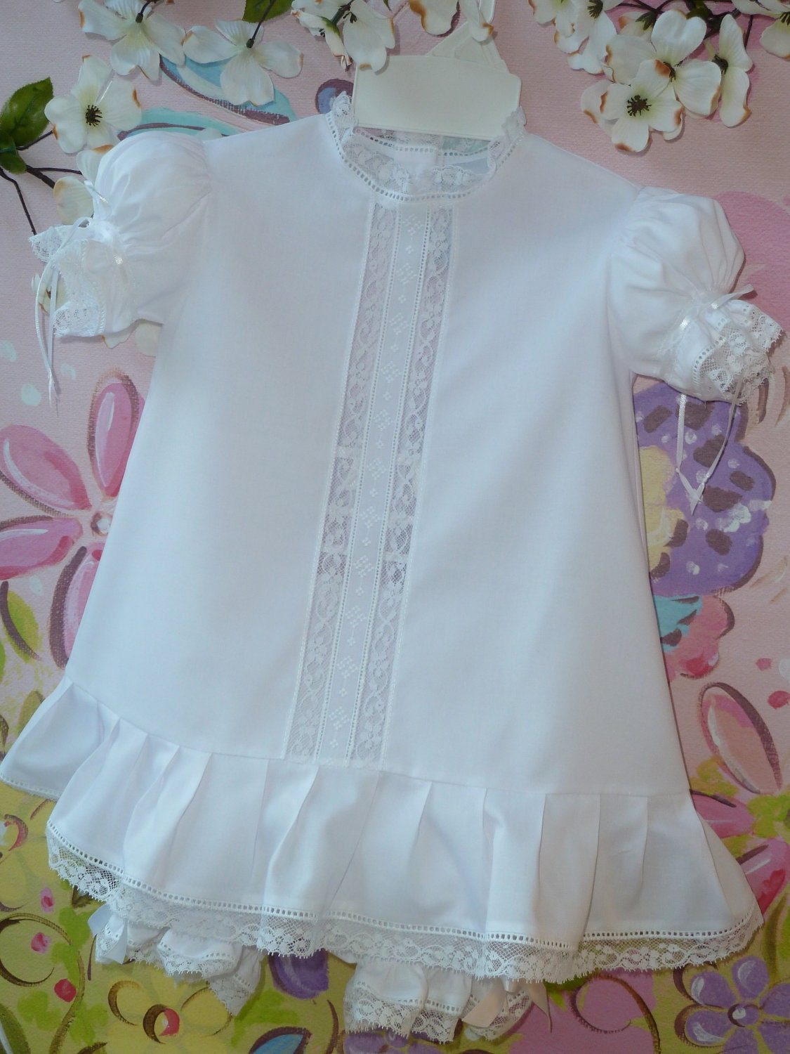 Items similar to Heirloom Baby and Toddler Dress and