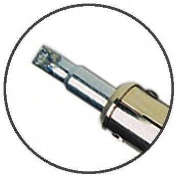 inland 100 watt soldering iron 1 4 inch tip by glasssupplies. Black Bedroom Furniture Sets. Home Design Ideas
