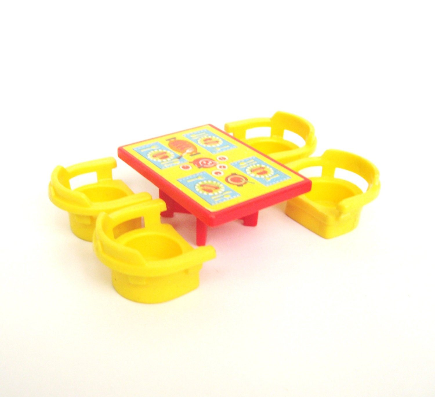 RESERVED Vintage Fisher Price Table and Chairs by