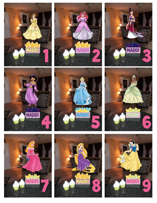 Diy small princess birthday party by smartiesparties on