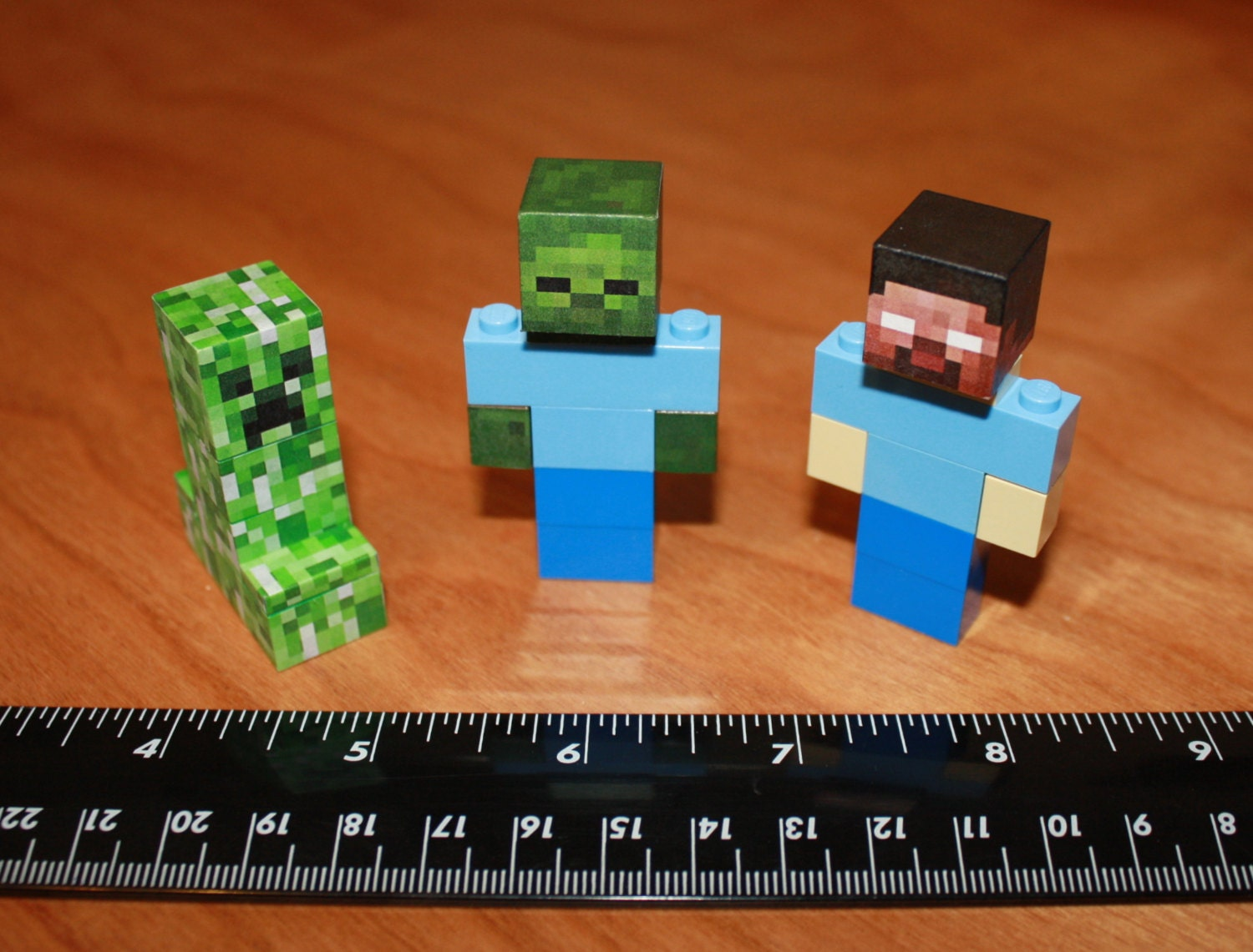 lego minecraft creeper instructions