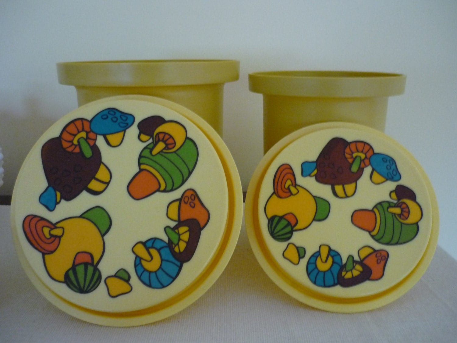 Vintage Canister Set Retro 70 39 S Kitchen Decor Magic By