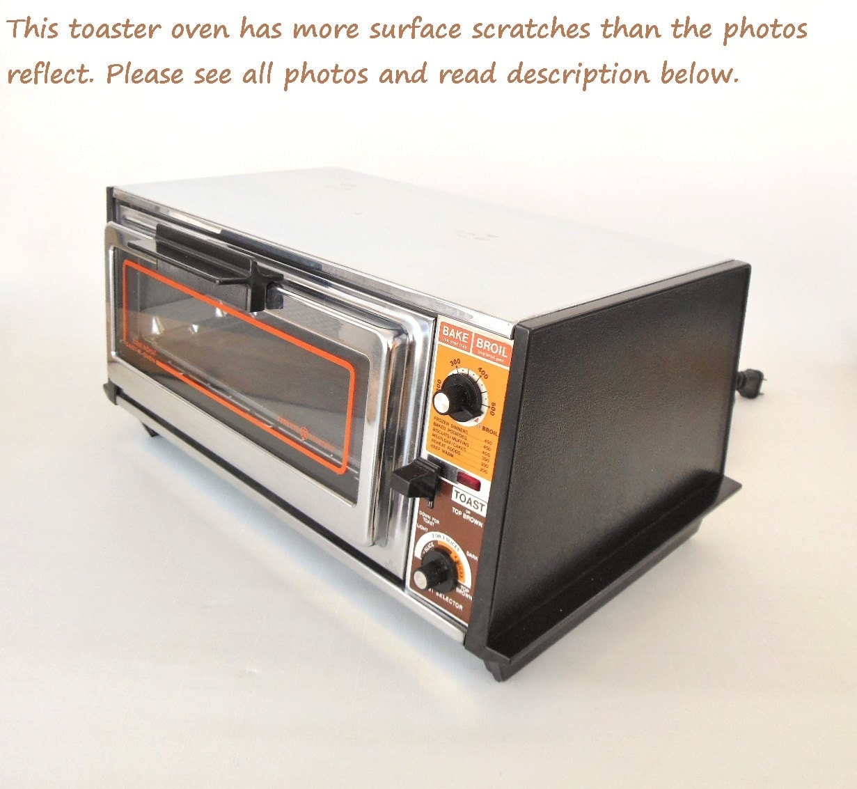 Old Ge Toaster Ovens ~ Toaster oven vintage chrome ge general electric by