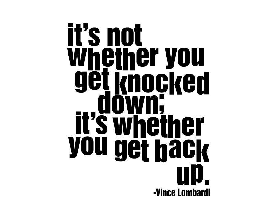 Vince Lombardi Quote It S Not Whether You By Inspirationsbyamelia