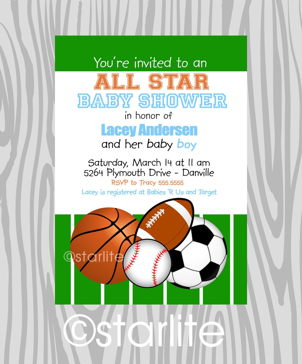 baby boy all star baby shower invitation baby boy by starwedd