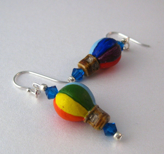 Hot Air Ballon Earrings
