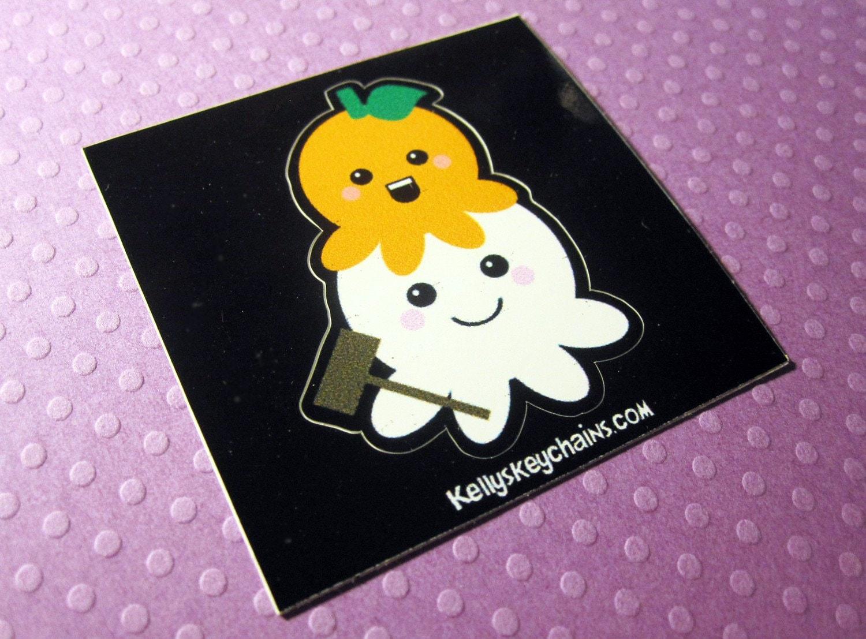 Mochipus Mochi Octopus 2 Inch Vinyl Sticker