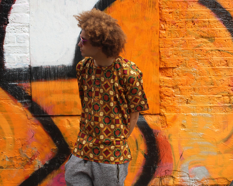 African Print Shirt  Wax Shirt Short Sleeve  Colourful Shirt  African Two Piece  African Shirt  Festival Clothing  Festival Shirt