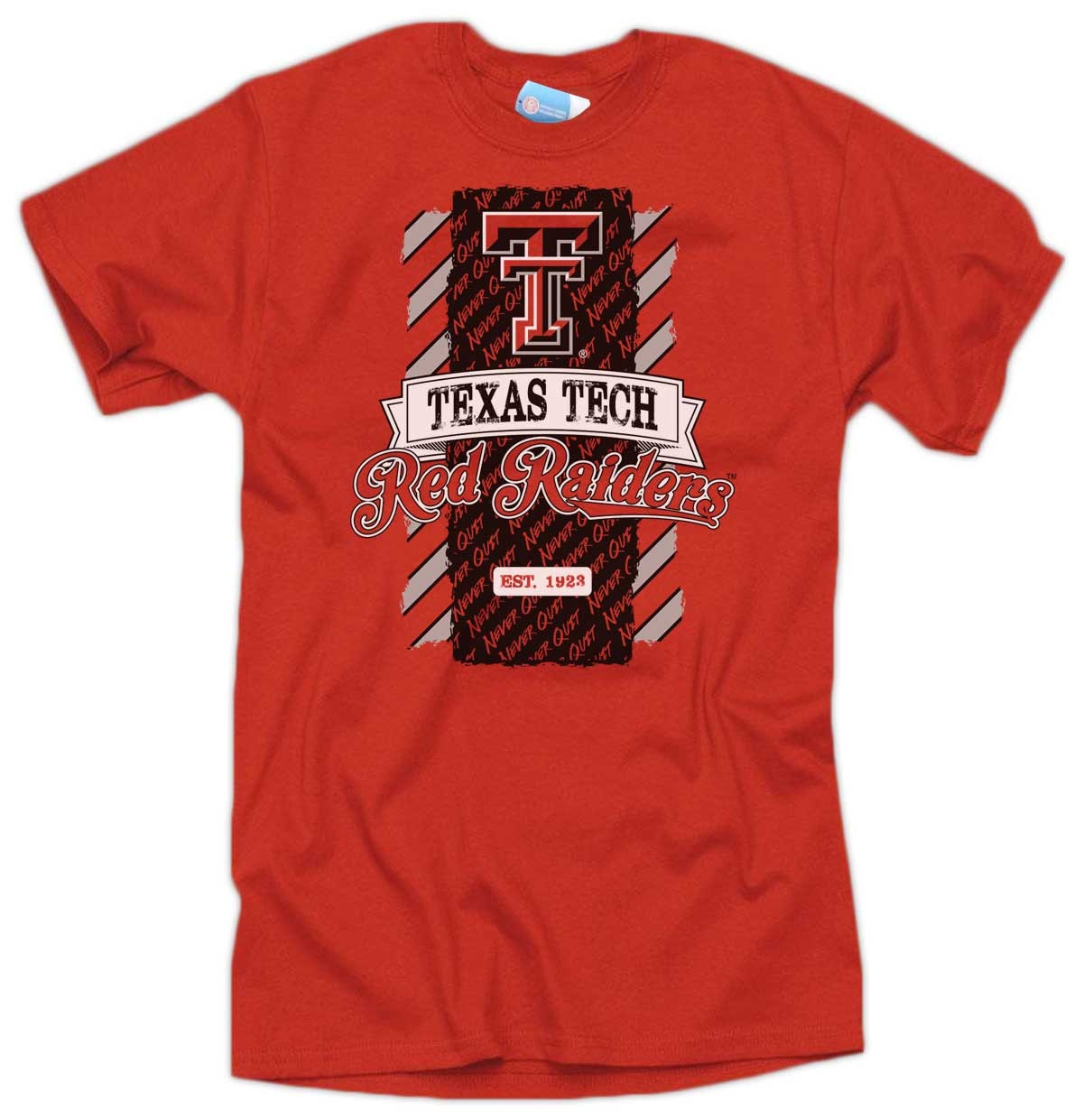 Items Similar To Texas Tech Never Quit T Shirt Red Texas
