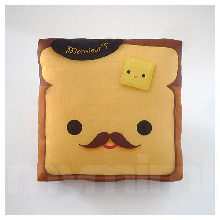 Decorative Pillow Toast Pillow French Toast Breakfast By