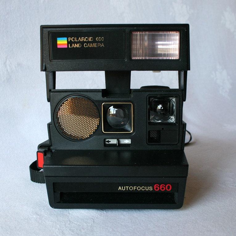 polaroid autofocus 660 instant film land camera by phantomlimbs. Black Bedroom Furniture Sets. Home Design Ideas
