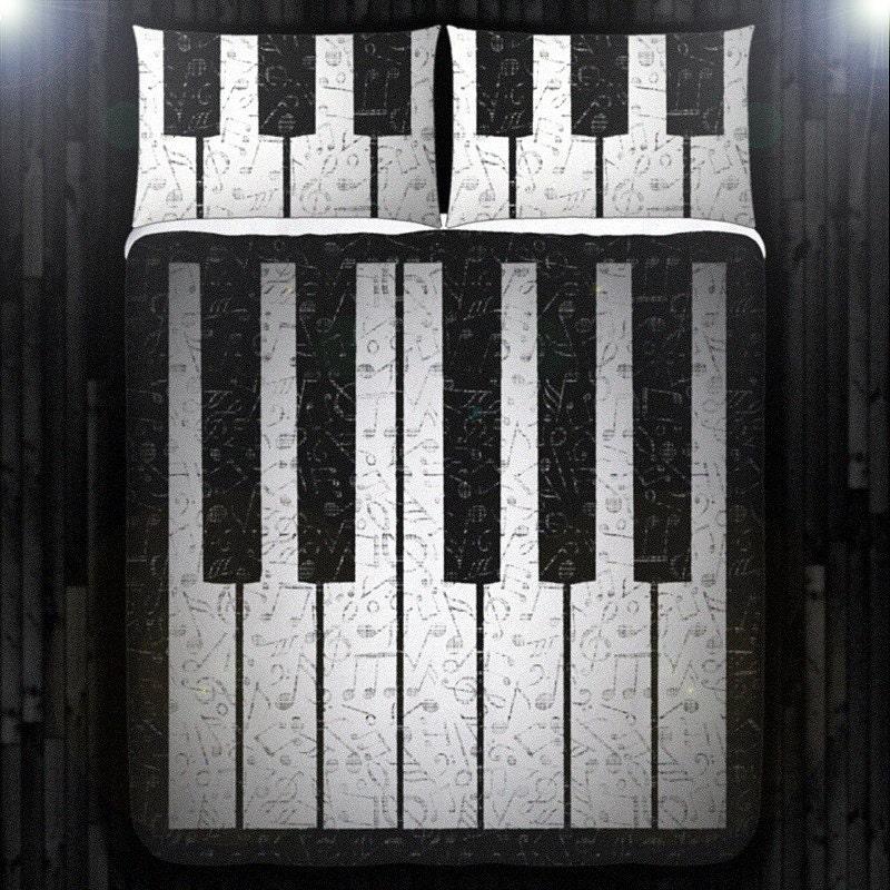 Music Note Bedding Full