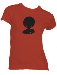 Luv Naturale Ladies Fitted T-shirt