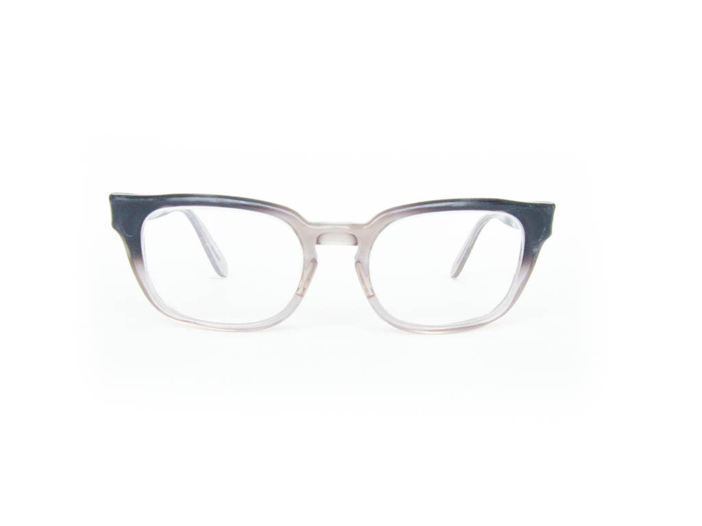 Vintage Eyeglasses - Grey Bausch and Lomb - pastoria