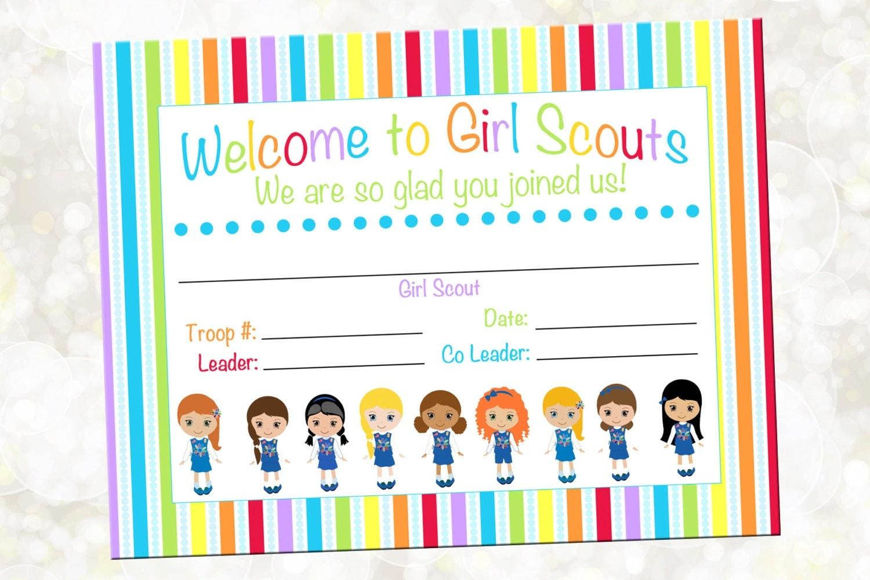 Girl Scout Troop Letterhead Pdf Download 1171455 Salonurodyfo