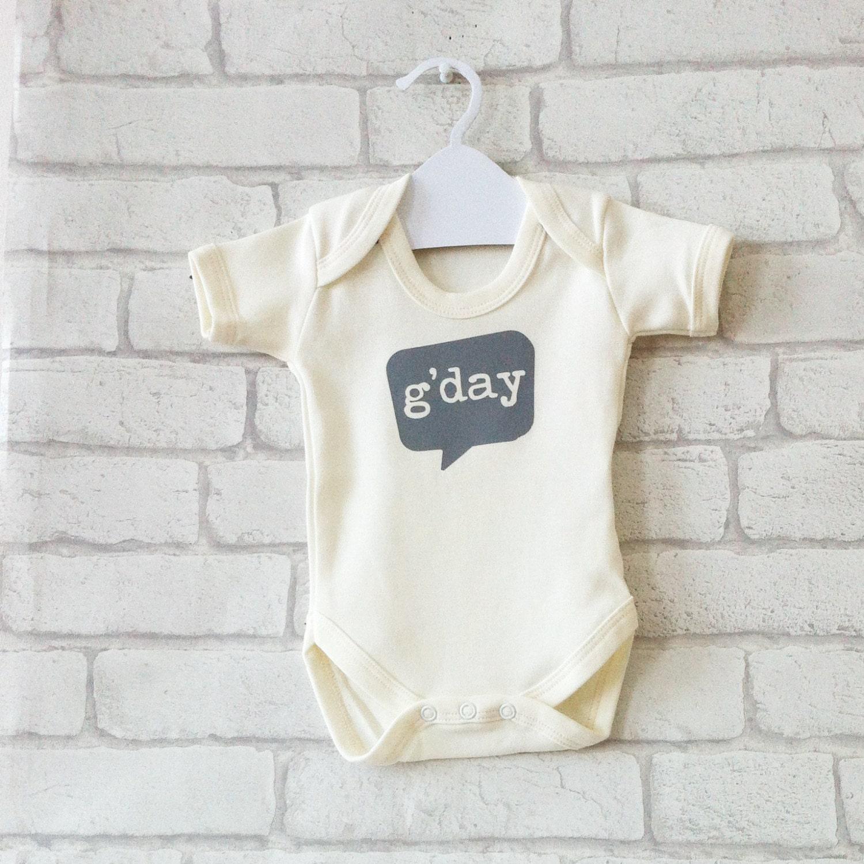 GDAY New Baby Gift Organic Baby Gift Aussie Baby Gift Baby Shower Gift Baby Gift Idea Neutral Baby Gift Grey Baby Gift