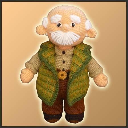 Etsy Amigurumi Patrones : Amigurumi Pattern Crochet Grandpa by DeliciousCrochet on Etsy