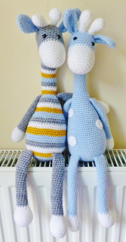 Crochet Giraffe Amigurumi Pattern PATTERN ONLY by ...