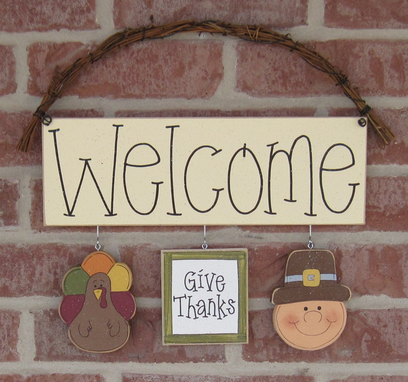 Monthly welcome sign november for wall and home decor by for November home decorations