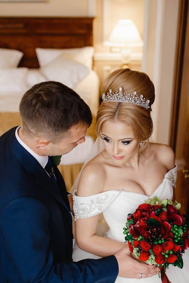 Crown at wedding