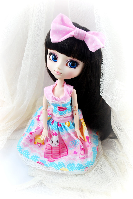 Pullip Dress and Bow set - Kawaii Disney Marie