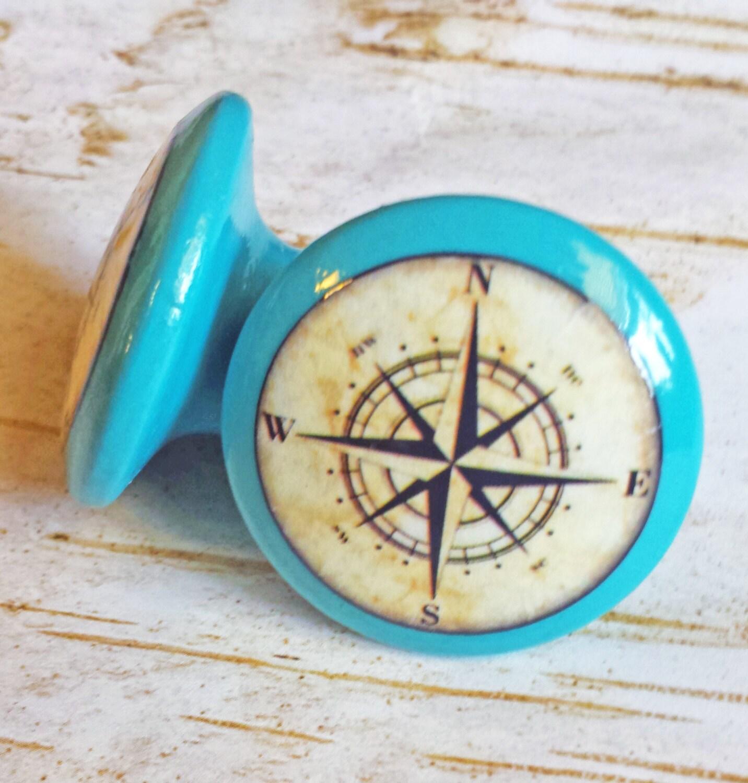 Nautical cabinet pulls